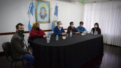 El director provincial de Juventudes visitó Pocito par brindar detalles sobre el programa Joven PODES